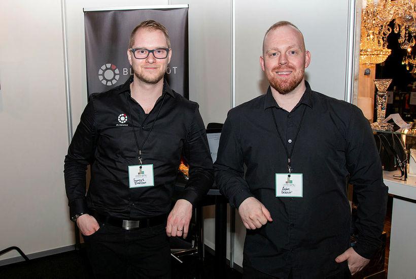 Viktor Alexander og Anton Eyþór Rúnarsson.