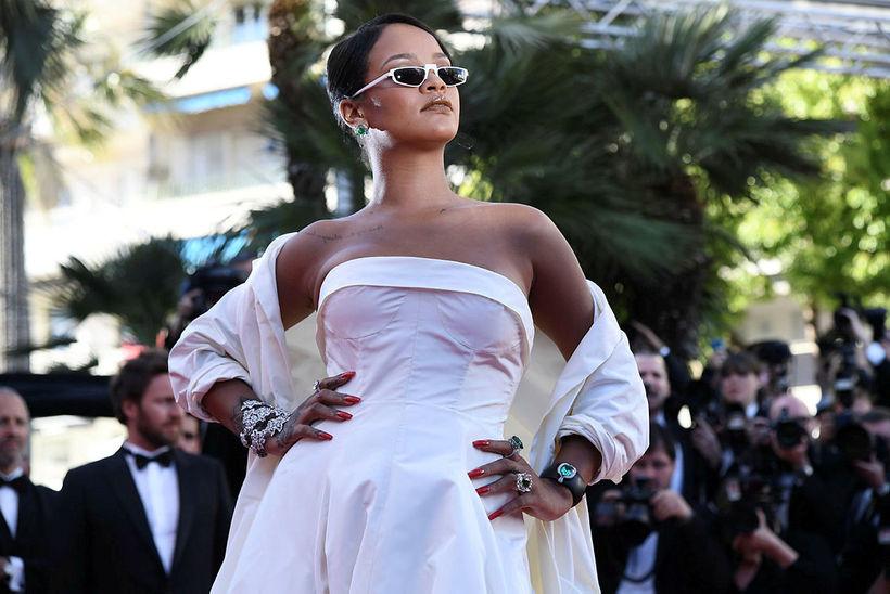 Rihanna hefur unnið hörðum höndum við að byggja upp feril ...