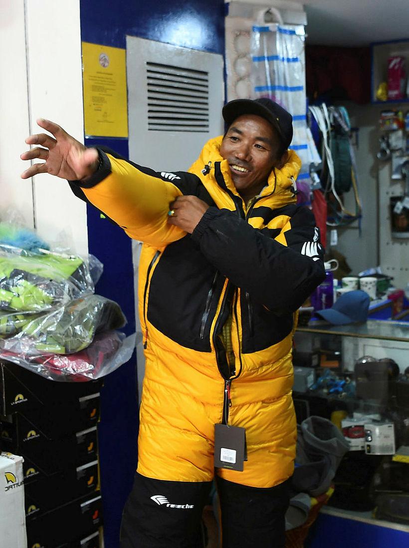 Kami Rita fór í fyrsta skipti á Everest árið 1994.