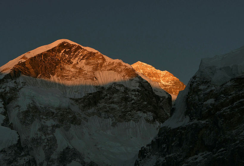 Everest er hæsta fjall heims.
