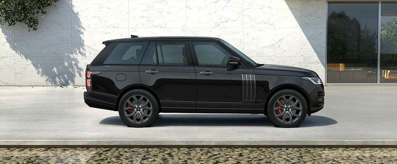 Range Rover autobiography SV, svartur meðljósri innréttingu. Einfaldlega minn óskadraumur …