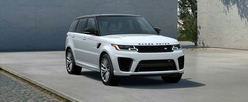 Range Rover Sport HSE, hvítur. Finnst hann flott hannaður og …