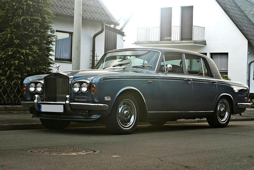 Rolls Royce Silver Shadow var uppáhald föður míns. Myndi heiðra …