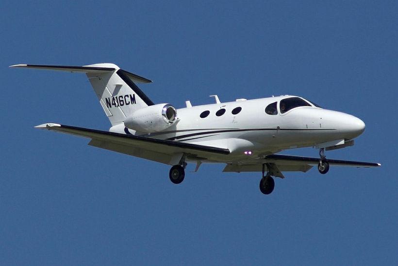 Í mínu villtustu draumum ætti ég Cessna Citation einkaþotu sem …