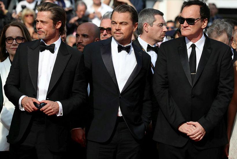 Brad Pitt og Leonardo DiCaprio leika í mynd Quentin Tarantino.