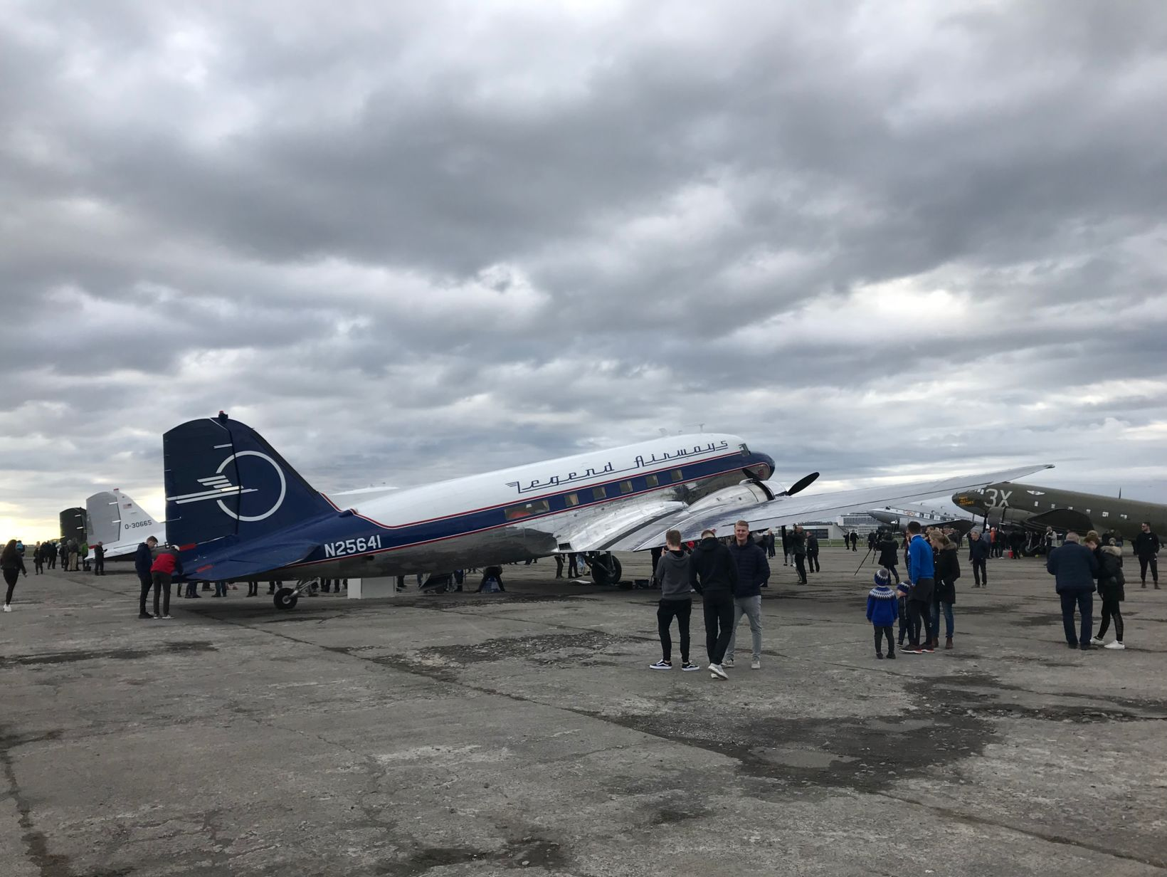 The DC-3/C-47 aircraft at Reykjavík Airport.