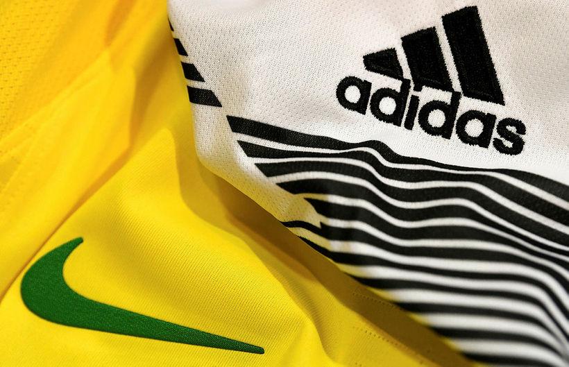 Forsvarsmenn Nike og Adidas eru meðal þeirra sem undirritað hafa …