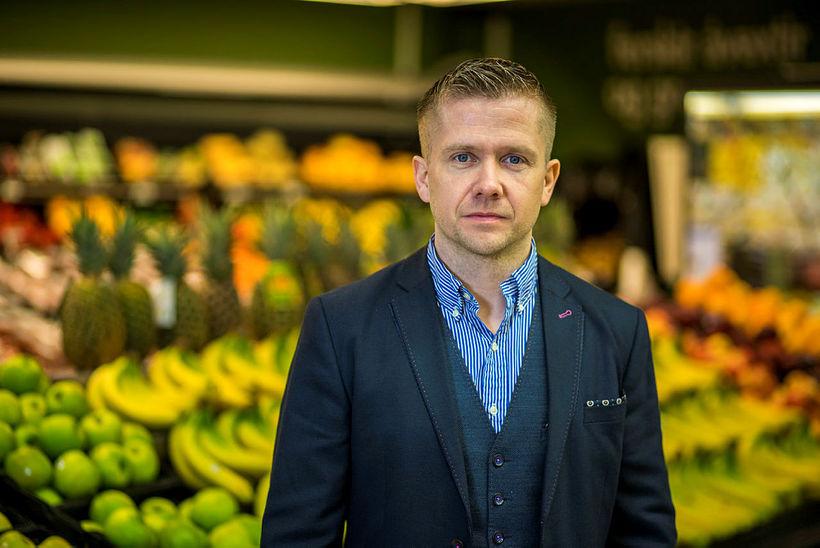 Gunnar Egill Sigurðsson framkvæmdastjóri verslunarsviðs Samkaupa.