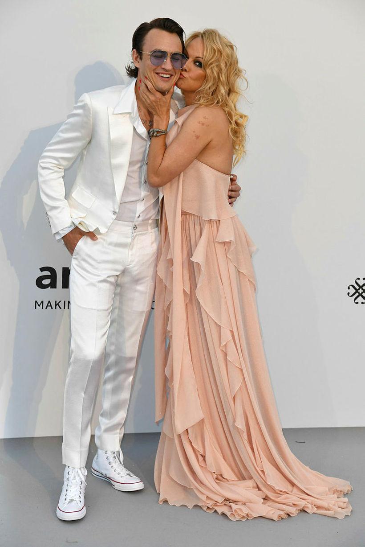 Brandon Thomas Lee og Pamela Anderson.