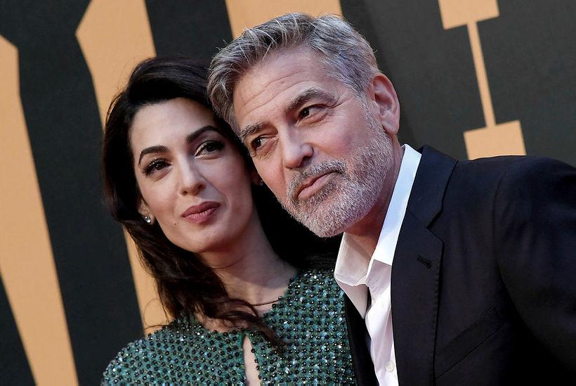 Amal og George Clooney þurfa fara afar varlega þegar kemur ...