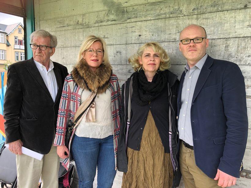 Frummælendur á fundinum voru Styrmir Gunnarsson, Vigdís Hauksdóttir borgarfulltrúi, Birgitta ...