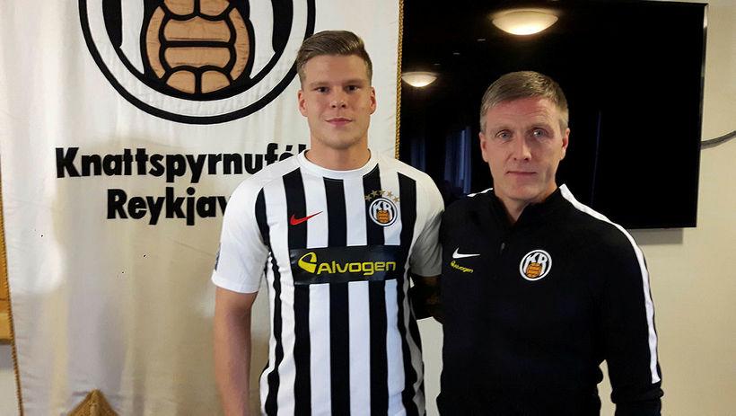 Rúnar Kristinsson fékk Björgvin Stefánsson frá Haukum haustið 2017.