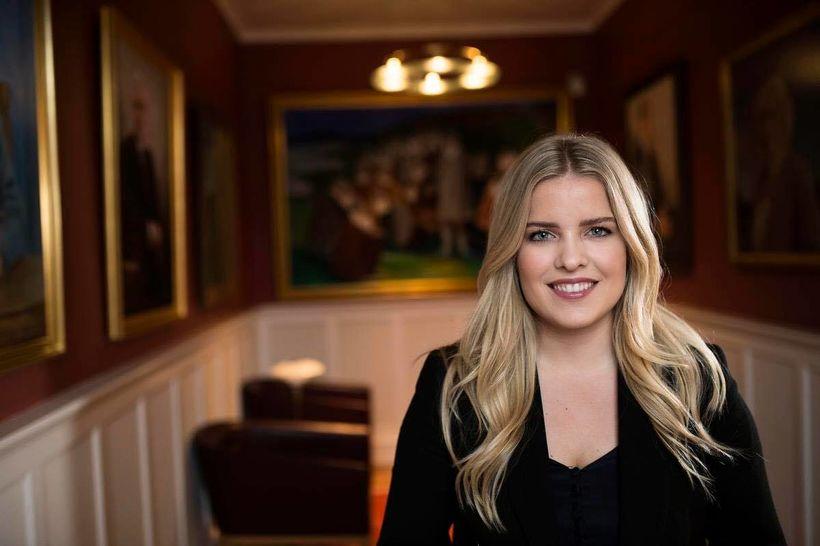 Áslaug Arna Sigurbjörnsdóttir alþingismaður.