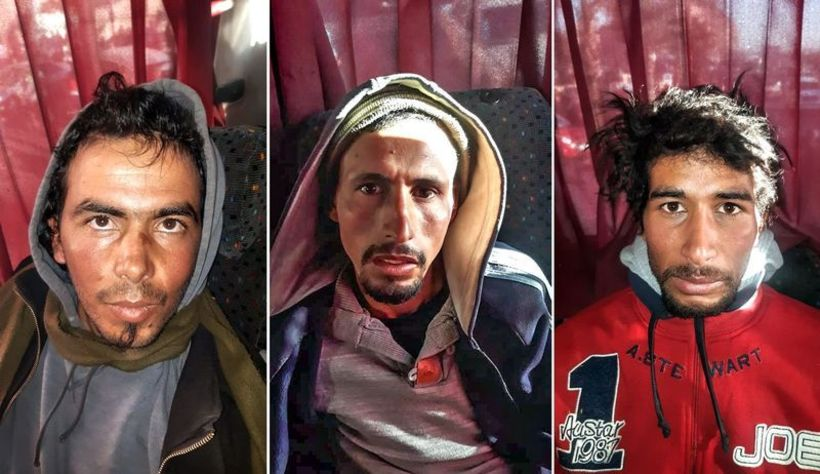 Youness Quzaid, Abdessamad El Joud og Rachid Afati voru allir ...