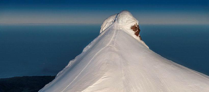 From Snæfellsjökull glacier.