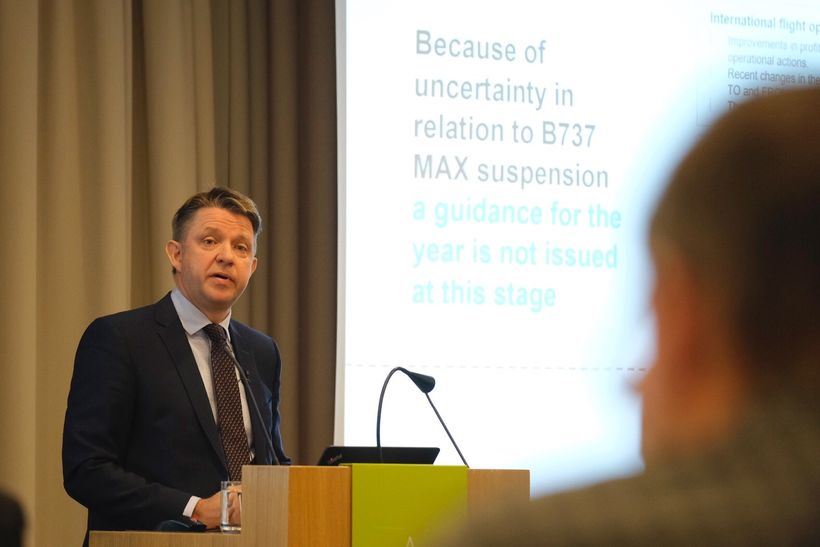Icelandair Group CEO Bogi Nils Bogason.