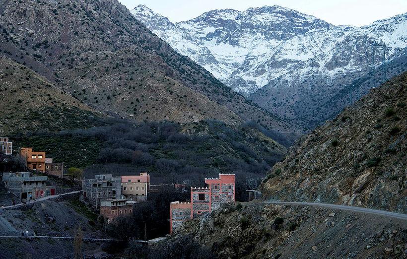 Frá Atlasfjöllunum í Marokkó.