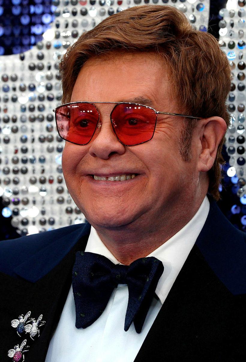 Stórstjarnan Elton John.