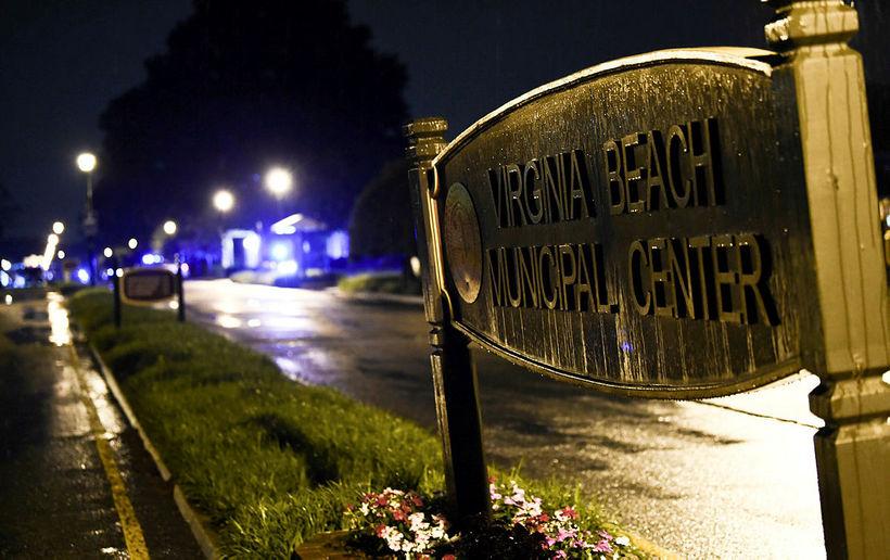 Merki Virginia Beach en starfsmaður borgarinnar skaut 12 til bana …