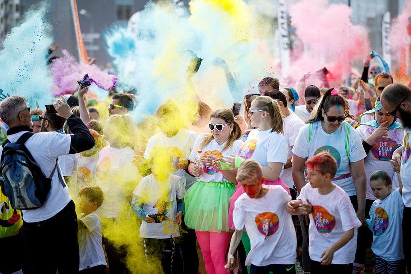 The Color Run litahlaupið 2019