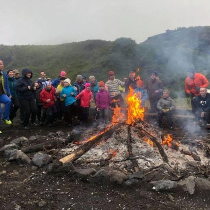 Mikið ævintýri er fyrir börn að fara í ferð með …