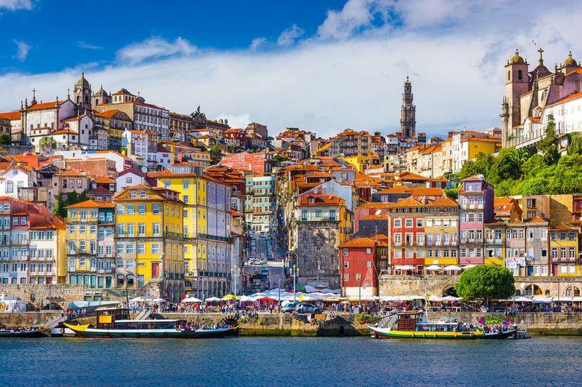 Porto í Portúgal er lítill og litríkur bær sem gaman …