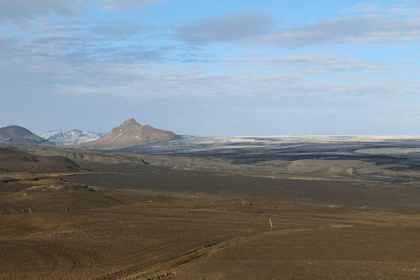 The route over Tungnaárjökull is impassable.