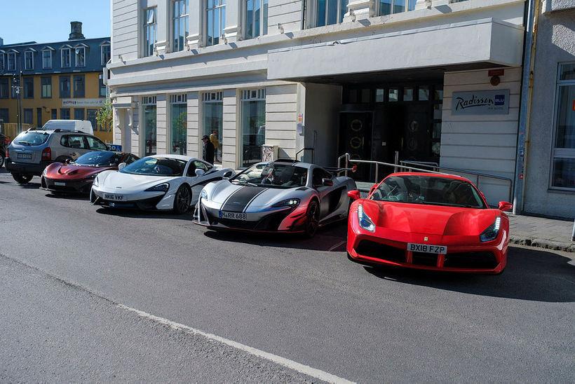 Jafnvel í borgum eins og London og Monte Carlo, þar ...