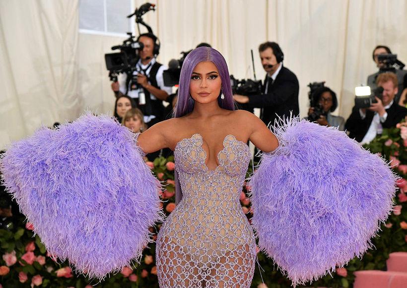 Kylie Jenner hélt afmælisveislu með Handmaid's Tale þema.
