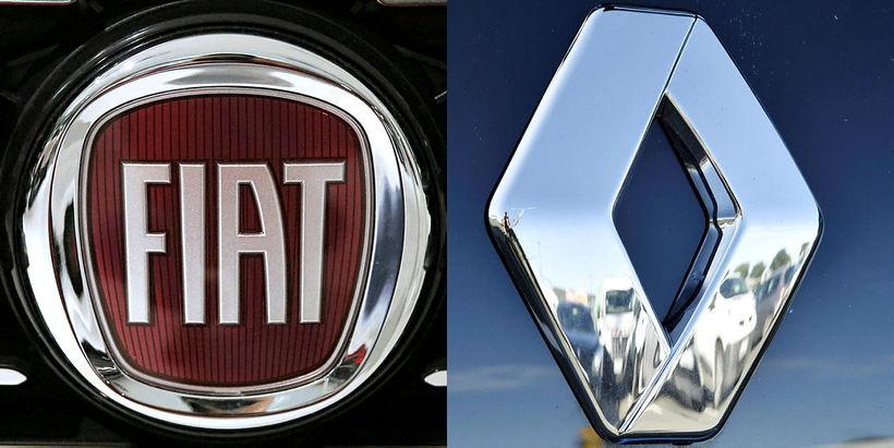 Ekkert verður af fyrirhuguðum samruna Renault og Fiat Chrysler.