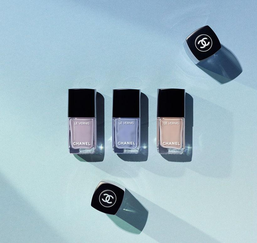 Chanel Le Vernis í litunum Purple Ray, Open Air og ...