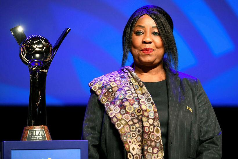 Fatma Samoura, framkvæmdarstjóri FIFA.