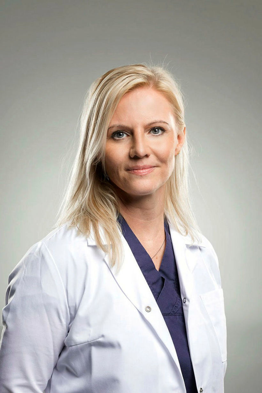 Jenna Huld Eysteinsdóttir húðæknir segir að þau á Húðlæknastöðinni geri ...