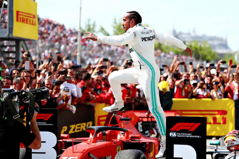 Lewis Hamilton sagðist ekki vilja vinna sigur sem þann er …