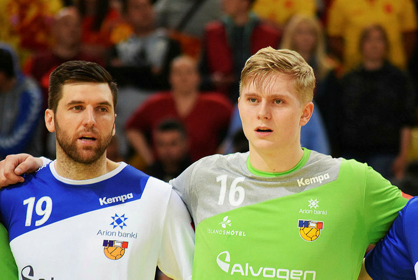 Ólafur Gústafsson og Viktor Gísli Hallgrímsson eru í hópnum.