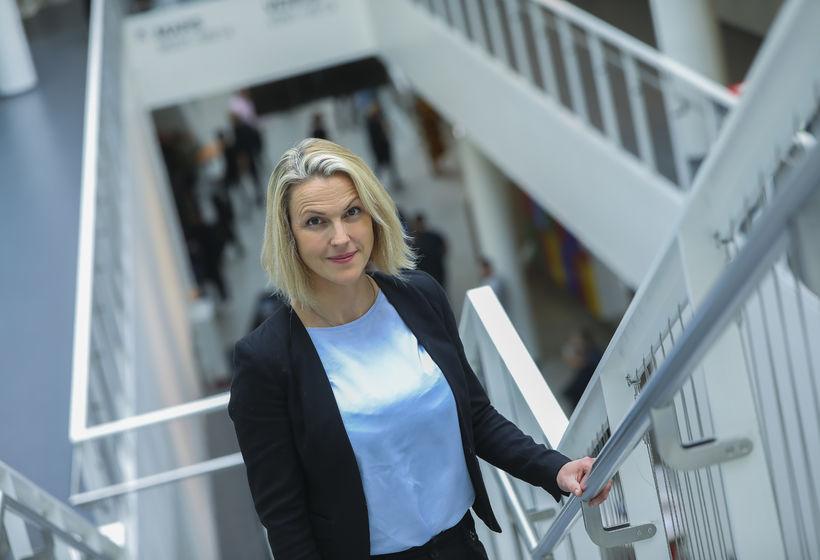 Hera Grímsdóttir, deildarforseti iðn- og tæknifræðideildar HR.