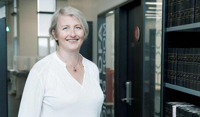 Dr. Ragnhildur Helgadóttir, sviðsforseti samfélagssviðs HR.
