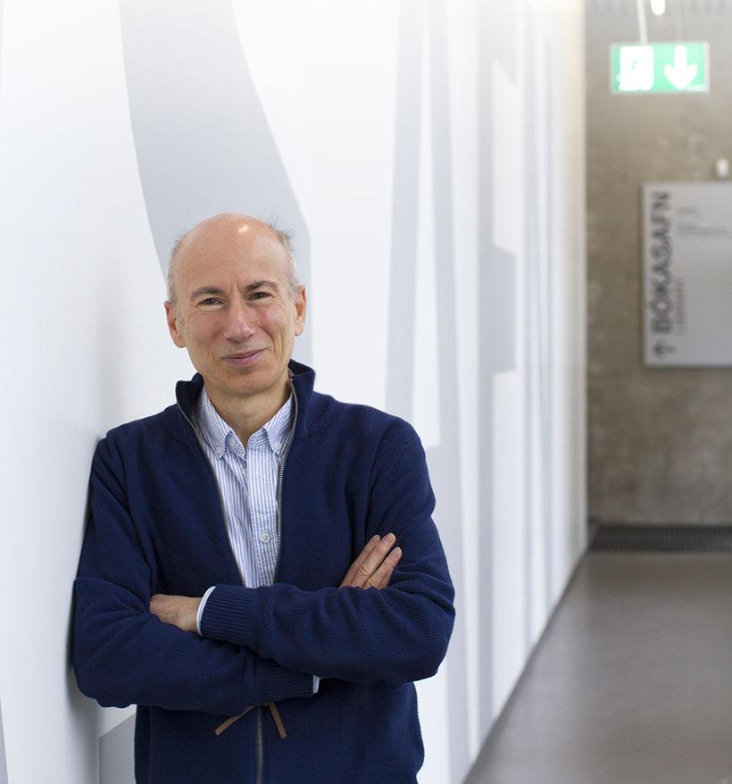 Dr. Luca Aceto, deildarforseti tölvunarfræðideildar HR.