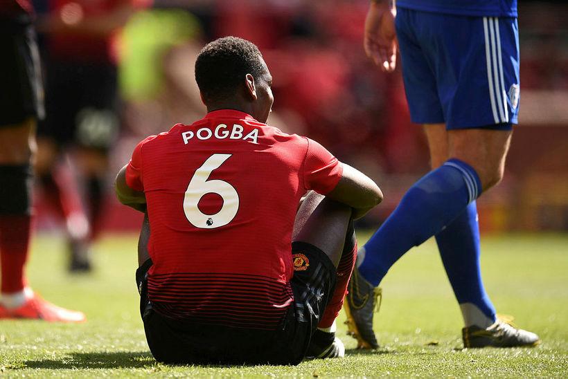Paul Pogba hefur verið sterklega orðaður við Real Madrid, undanfarnar ...