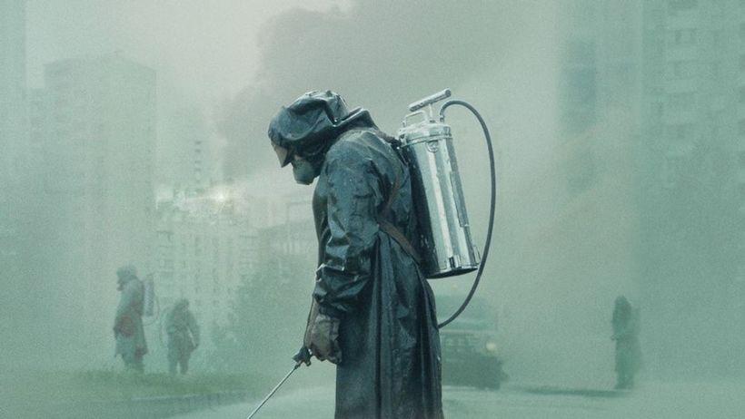 "A scene from ""Chernobyl."""