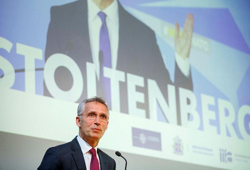 Jens Stoltenberg framkvæmdastjóri NATO.