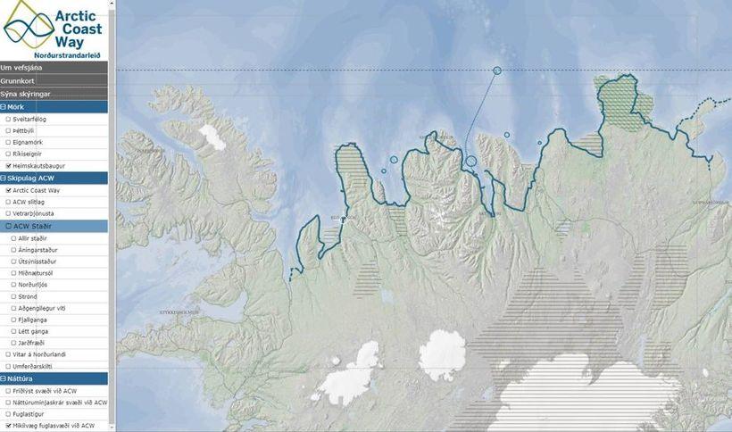 The Arctic Coast Way.