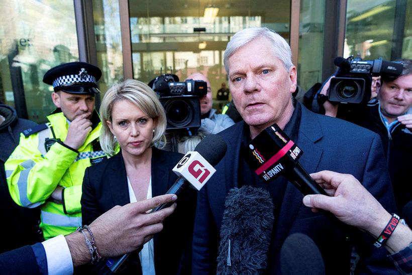 Kristinn Hrafnsson ritstjóri WikiLeaks vill ekki gefa upp hversu stóran ...