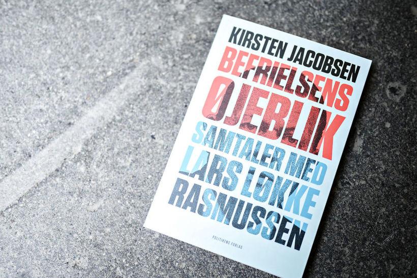 Lars Løkke Rasmussen, forsætisráðherra og formaður Venstre, gaf út bók ...