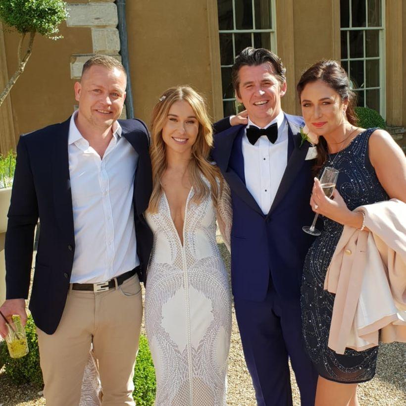 Heiðar, Georgia McNeil, Joey Barton og Mariam.