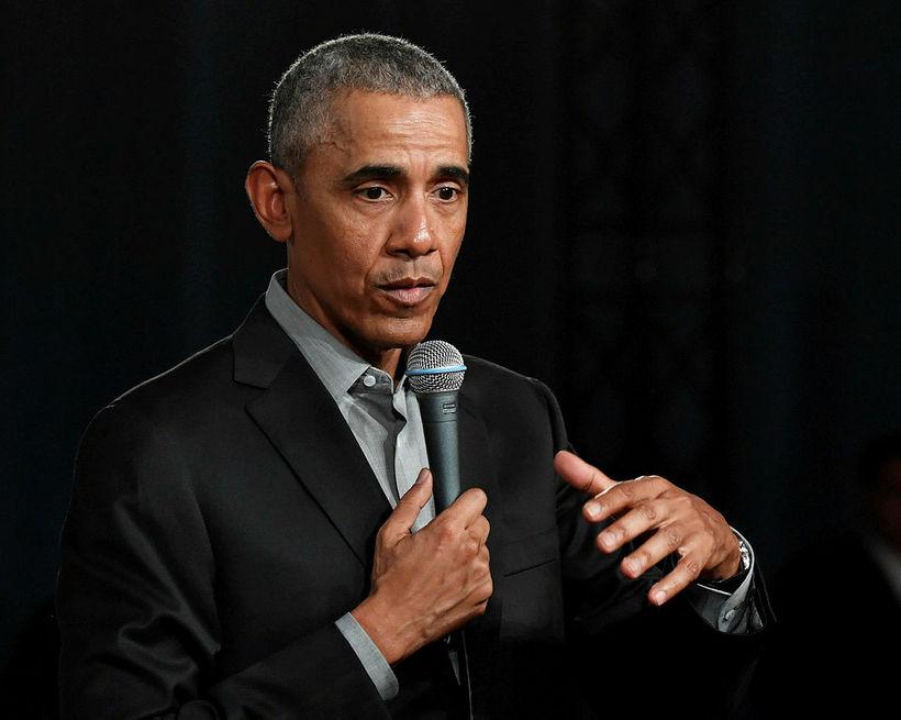 Barack Obama tekur til máls á sömu ráðstefnu og Greta ...