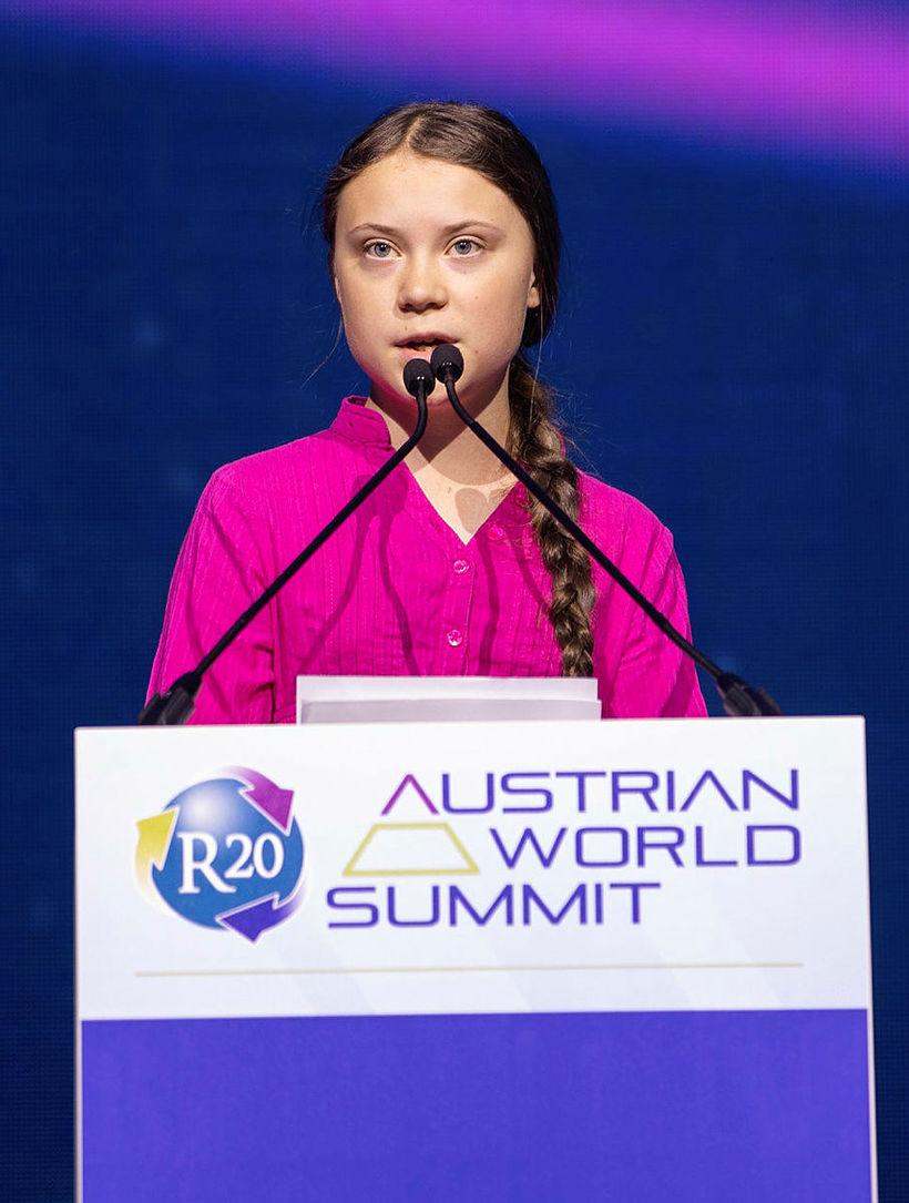 Greta Thunberg og Obama hafa áður skipst á hlýjum kveðjum …