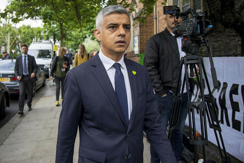 Sadiq Khan, borgarstjóri London.