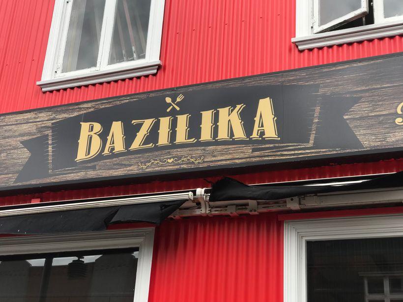 Veitingastaðurinn Bazilika fer óhefðbundnar leiðir í markaðssetningu.