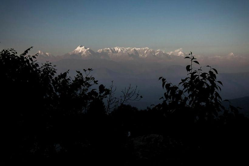 Frá Himalajafjöllunum.